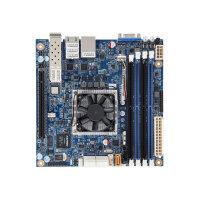 Gigabyte MB10-DS3 - 1.3 - motherboard - mini ITX - Intel Xeon D-1541 - USB 3.0 - 2 x 10 Gigabit LAN, 2 x Gigabit LAN - onboard graphics