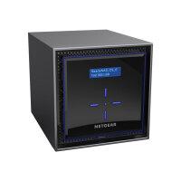 NETGEAR ReadyNAS 424 - NAS server - 4 bays - SATA 6Gb/s - RAID 0, 1, 5, 6, 10, JBOD - RAM 2 GB - Gigabit Ethernet - iSCSI