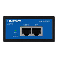 Linksys Business Gigabit High Power PoE Injector - PoE injector - AC 100-240 V - 30 Watt - United Kingdom - for Business LAPAC2600