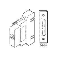 Cisco - Serial adapter - RJ-45 (F) to DB-25 (M) - for Cisco 2509, 2509-ET, 2510, 2511, 2512