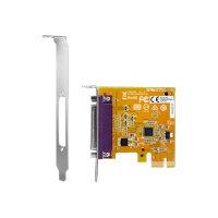 HP - Parallel adapter - PCIe - for HP 285 G3; EliteDesk 800 G2; EliteOne 800 G2; ProDesk 490 G3, 600 G2; Workstation Z238