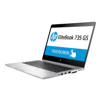"HP EliteBook 735 G5   Laptop - Ryzen 5 2500U / 2 GHz - Win 10 Pro 64-bit - 8 GB RAM - 256 GB SSD NVMe - 13.3"" IPS 1920 x 1080 (Full HD) - AMD Radeon Vega - Wi-Fi, Bluetooth - kbd: UK"