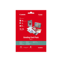 Canon Greeting Card Pack GCP-101 - 100 x 150 mm - 170 g/m² - 10 sheet(s) photo paper kit