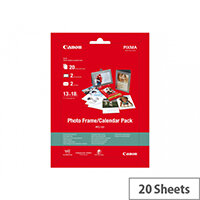 Canon Photo Frame/Calendar Pack PFC-101 - 130 x 180 mm - 275 g/m² - 20 sheet(s) photo paper kit