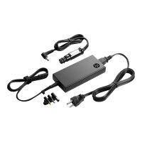 HP Slim Combo Adapter with USB - Power adapter - AC / car - AC 90-264 V - 90 Watt - United Kingdom - for HP 250 G4; Chromebook 14; EliteBook 2570, 725 G2, 745 G2, 755 G2, 820 G1, 820 G2, 840 G1