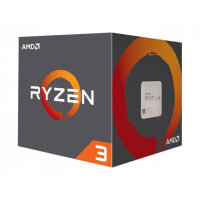 AMD Ryzen 3 1300X - 3.5 GHz - 4 cores - 4 threads - 8 MB cache - Socket AM4 - Box