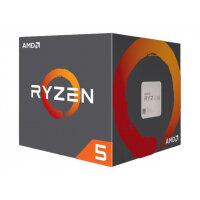 AMD Ryzen 5 1400 - 3.2 GHz - 4 cores - 8 threads - 10 MB cache - Socket AM4 - Box
