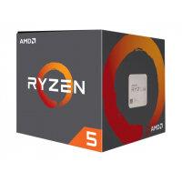 AMD Ryzen 5 1600 - 3.2 GHz - 6-core - 12 threads - 19 MB cache - Socket AM4 - Box