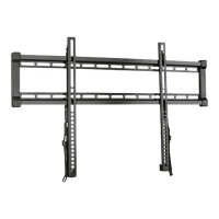 "Sanus VuePoint F55c - Mounting kit (wall mount) for plasma panel - black - screen size: 47""-80"""