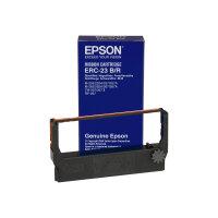 Epson ERC 23BR - 1 - black, red - print ribbon - for M 280; TM 267, 270