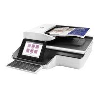 HP ScanJet Enterprise Flow N9120 fn2 Flatbed Scanner - Document scanner - Duplex - 297 x 864 mm - 600 dpi x 600 dpi - up to 120 ppm (mono) / up to 120 ppm (colour) - ADF (200 sheets) - up to 12000 scans per day - USB 2.0, Gigabit LAN, USB 2.0 (Host)
