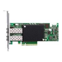 Emulex LightPulse LPe16002B - Host bus adapter - PCIe 2.0 x8 low profile - 16Gb Fibre Channel x 2 - for PowerEdge R520, R530, R620, R630, R715, R720, R720xd, R730, R730xd, R815, R820, R830, R910
