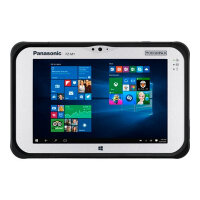"Panasonic Toughpad FZ-M1 Value - Tablet - Atom x5 Z8550 / 1.44 GHz - Win 10 Pro - 4 GB RAM - 128 GB eMMC - 7"" IPS touchscreen 1280 x 800 - HD Graphics 400 - Wi-Fi, Bluetooth - 4G - rugged"