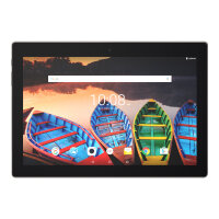 "Lenovo TAB 3 X70F ZA0X - Tablet - Android 6.0 (Marshmallow) - 16 GB eMMC - 10.1"" IPS (1920 x 1200) - USB host - microSD slot - slate black"