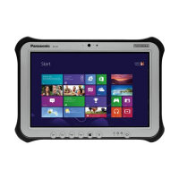 "Panasonic Toughpad FZ-G1 - Tablet - Core i5 6300U / 2.4 GHz - Win 10 Pro - 8 GB RAM - 256 GB SSD - 10.1"" IPSa touchscreen 1920 x 1200 - HD Graphics 520 - Wi-Fi, Bluetooth - 4G - rugged"