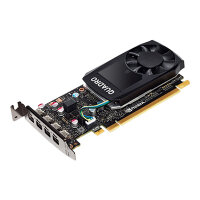 NVIDIA Quadro P620 - Graphics card - Quadro P620 - 2 GB GDDR5 - PCIe 3.0 x16 - 4 x Mini DisplayPort