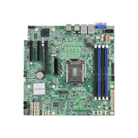 Intel Server Board S1200SPSR - Motherboard - micro ATX - LGA1151 Socket - C232 - USB 3.0 - 2 x Gigabit LAN - onboard graphics