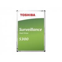 """Toshiba S300 Surveillance - Hard drive - 4 TB - internal - 3.5"""" - SATA 6Gb/s - 5400 rpm - buffer: 128 MB"""