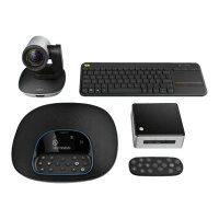 Logitech GROUP Kit - Video conferencing kit - with Intel NUC Kit NUC5i5MYHE