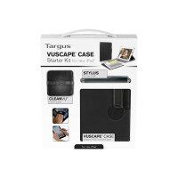 Targus Vuscape Case Starter Kit - Accessory kit - black - for Apple iPad (3rd generation)