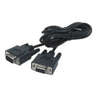 APC - Serial cable - DB-9 (M) to DB-9 (F) - black - for P/N: ISVT20KHS, ISVT30KHS, ISVT40KHS, SUA2200RMXLI3U, SUA5000RMI5U, SUVT20KF2B4S-TU
