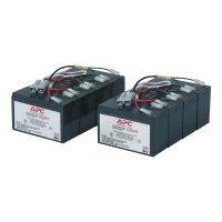 APC Replacement Battery Cartridge #12 - UPS battery - 2 x Lead Acid - black - for P/N: DL5000RMT5U, SU5000R5TBX114, SU5000R5TBXFMR, SU5000R5T-TF3, SU5000R5XLT-TF3
