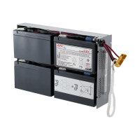 APC Replacement Battery Cartridge #24 - UPS battery Lead Acid - black - for P/N: DLA1500RM2U, DLA1500RMI2U, SU1400R2IBX135, SUA1500R2X122, SUA1500R2X180, SUA1500R2X93