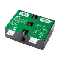 APC Replacement Battery Cartridge #124 - UPS battery - 1 x Lead Acid - for P/N: BR1200G-FR, BR1200GI, BR1300G, BR1500G, BR1500G-FR, BR1500GI, SMC1000-2U, SMC1000I-2U