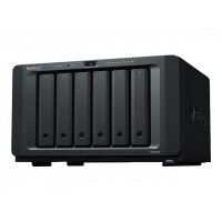 Synology Disk Station DS1618+ - NAS server - 6 bays - SATA 6Gb/s - RAID 0, 1, 5, 6, 10, JBOD - RAM 4 GB - Gigabit Ethernet - iSCSI