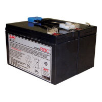 APC Replacement Battery Cartridge #142 - UPS battery - 1 x Lead Acid 216 Wh - for P/N: SMC1000, SMC1000I