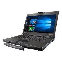 "Panasonic Toughbook 54 Mid - Core i5 7300U / 2.6 GHz - Win 10 Pro - 4 GB RAM - 500 GB HDD - DVD SuperMulti - 14"" IPS 1366 x 768 (HD) - HD Graphics 620 - Bluetooth - 4G"