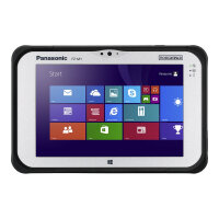 "Panasonic Toughpad FZ-M1 - Tablet - Core m5 6Y57 / 1.1 GHz - Win 10 Pro 64-bit - 4 GB RAM - 128 GB SSD - 7"" IPS touchscreen 1280 x 800 - HD Graphics 515 - Wi-Fi, Bluetooth - rugged"