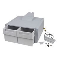 Ergotron StyleView Primary Double Tall Drawer - Mounting component (drawer module) - lockable - medical - grey, white - cart mountable