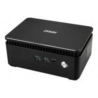 MSI Cubi 3 Silent S 026BEU - Barebone - mini PC - 1 x Core i5 7200U / 2.5 GHz - HD Graphics 620 - GigE - WLAN: 802.11ac, Bluetooth 4.2