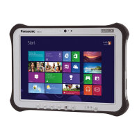 "Panasonic Toughpad FZ-G1 - Tablet - Core i5 7300U / 2.6 GHz - Win 10 Pro 64-bit - 8 GB RAM - 256 GB SSD - 10.1"" IPS touchscreen 1920 x 1200 - HD Graphics 620 - Wi-Fi, Bluetooth - 4G - rugged"