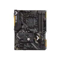 ASUS TUF B450-PLUS GAMING - Motherboard - ATX - Socket AM4 - AMD B450 - USB 3.1 Gen 1, USB 3.1 Gen 2, USB-C Gen1 - Gigabit LAN - onboard graphics (CPU required) - HD Audio (8-channel)