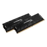 HyperX Predator - DDR4 - 16 GB: 2 x 8 GB - DIMM 288-pin - 4000 MHz / PC4-32000 - CL19 - 1.35 V - unbuffered - non-ECC - black