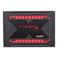 "HyperX FURY RGB Bundle - Solid state drive - 480 GB - internal - 2.5"" - SATA 6Gb/s - black"
