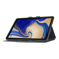 """Targus Click-In - Flip cover for tablet - rugged - polyurethane - black - 10.5"""" - for Samsung Galaxy S4"""