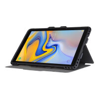 "Targus Pro-Tek - Flip cover for tablet - rugged - polyurethane - black - 10.5"" - for Samsung Galaxy Tab A (2018) (10.5 in)"