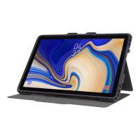 Targus Pro-Tek - Flip cover for tablet - rugged - polyurethane - blue - for Samsung Galaxy S4