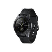 "Samsung Galaxy Watch - 42 mm - midnight black - smart watch with band - silicone - display 1.2"" - 4 GB - Wi-Fi, NFC, Bluetooth - 49 g"