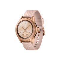 "Samsung Galaxy Watch - 42 mm - rose gold - smart watch with band - silicone - display 1.2"" - 4 GB - Wi-Fi, NFC, Bluetooth - 49 g"