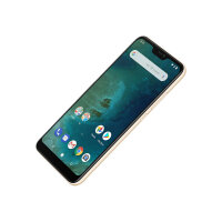 "Xiaomi MI A2 Lite - Smartphone - dual-SIM - 4G LTE - 64 GB - microSDHC slot, - microSDXC slot - GSM - 5.84"" - 2280 x 1080 pixels (432 ppi) - RAM 4 GB (5 MP front camera) - 2x rear cameras - Android - gold"
