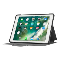 """Targus Click-In Case - Flip cover for tablet - polyurethane - silver - 9.7"""" - for Apple 9.7-inch iPad (5th generation, 6th generation); 9.7-inch iPad Pro; iPad Air; iPad Air 2"""