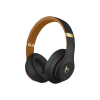 Beats Studio3 Wireless - The Beats Skyline Collection - headphones with mic - full size - Bluetooth - wireless - active noise cancelling - noise isolating - midnight black - for 10.5-inch iPad Pro; 9.7-inch iPad; 9.7-inch iPad Pro; iPhone 7, 8, X, XR, XS,