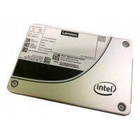 "Intel S4610 Mainstream - Solid state drive - encrypted - 480 GB - hot-swap - 2.5"" - SATA 6Gb/s - 256-bit AES - for ThinkAgile HX3721 Certified Node; HX7520 Appliance; ThinkSystem SR570; SR590; SR860; SR950"