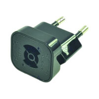 2-Power - Power connector adaptor - 2-pole (M) - Europe