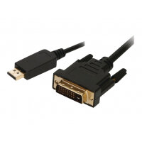 2-Power - Video cable - HDMI / DVI - HDMI (M) to DVI (M) screwable - 1 m