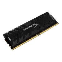 HyperX Predator - DDR4 - 32 GB: 4 x 8 GB - DIMM 288-pin - 3600 MHz / PC4-28800 - CL17 - 1.35 V - unbuffered - non-ECC - black